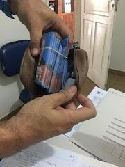 Eleitora é presa praticando  'boca de urna' em Olindina, na Bahia.