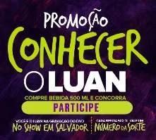 Cadastrar Promoção Habibs 2019 Conhecer Luan Santana Gravação Novo DVD em Salvador