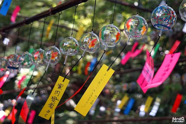 風鈴祭り、如意輪寺カエル寺、小郡市、福岡