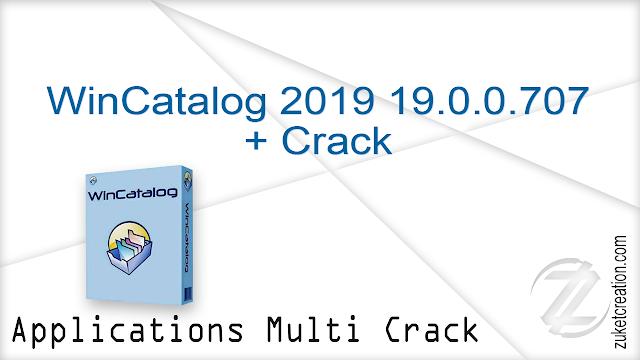 WinCatalog 2019 19.0.0.707 + Crack  |  69 MB