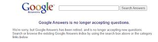 Google Answer | Screenshot