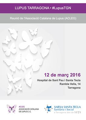 Jornadas lupus Tarragona. Conociendo el lupus y otras enfermedades autoinmunes