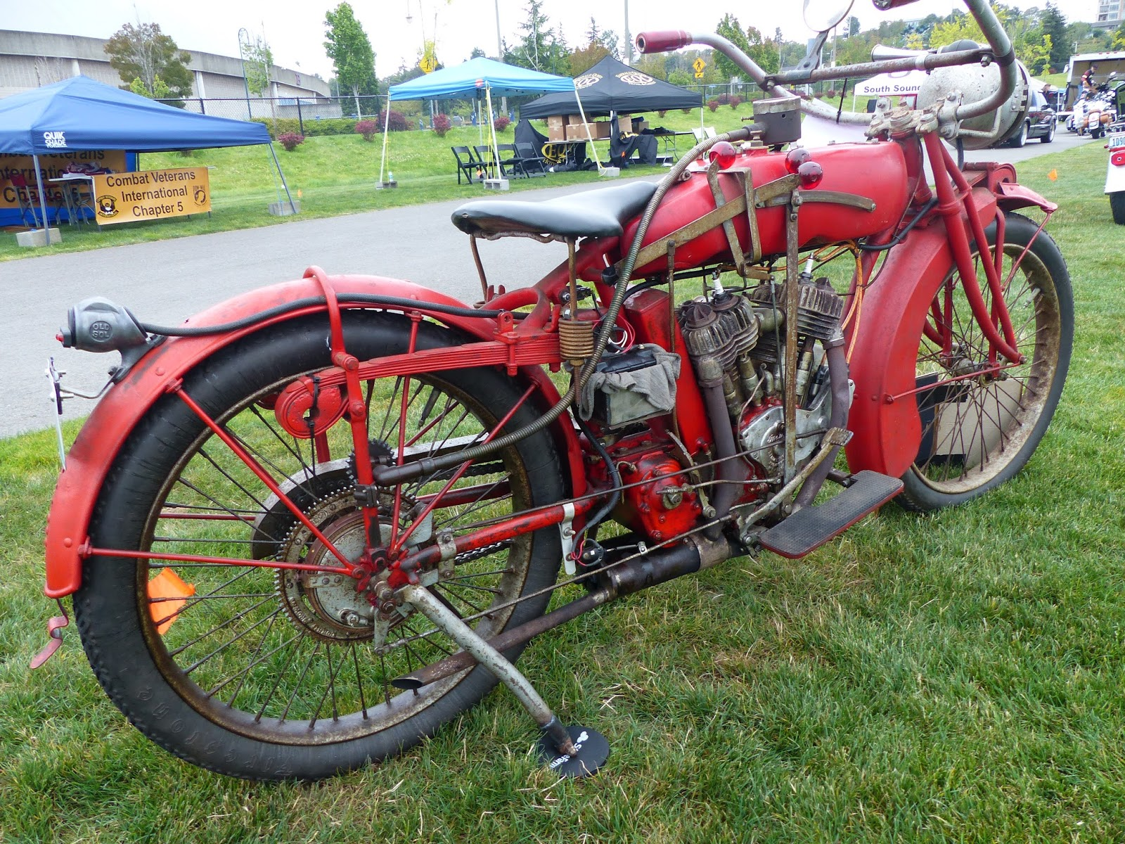 Oldmotodude 1917 Indian Power Plus On Display At 2016