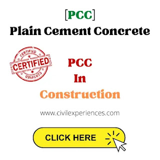 Plain Cement Concrete   PCC In Construction   PCC Full Form in Civil Engineering