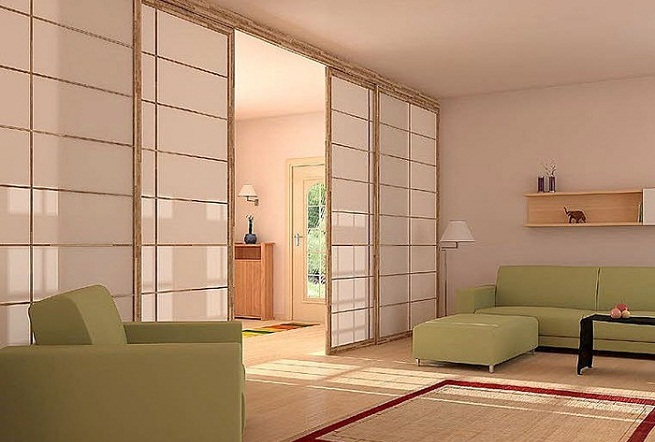 separaci n de ambientes. Black Bedroom Furniture Sets. Home Design Ideas