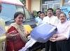 एनएचपीसी रियासी रेड क्रॉस सोसाइटी को दो एम्बुलेंस दान की।