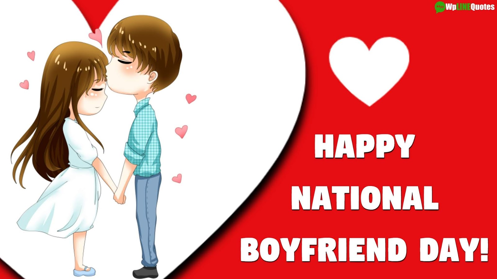 (Best) Happy National Boyfriend Day 2019 Quotes, Wishes, Images, Messages For Whatsapp & Facebook