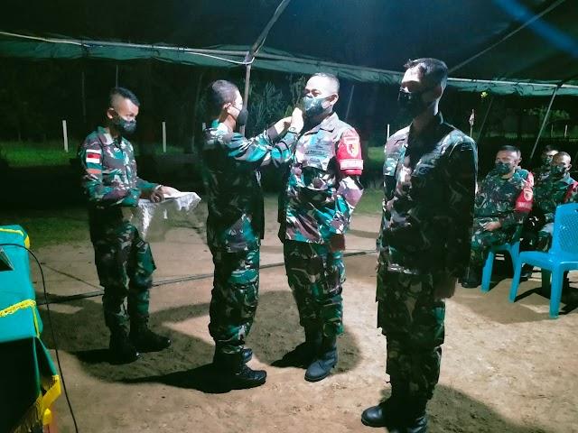 Kunjungan Pangdam V/Brawijaya ke wilayah perbatasan NKRI