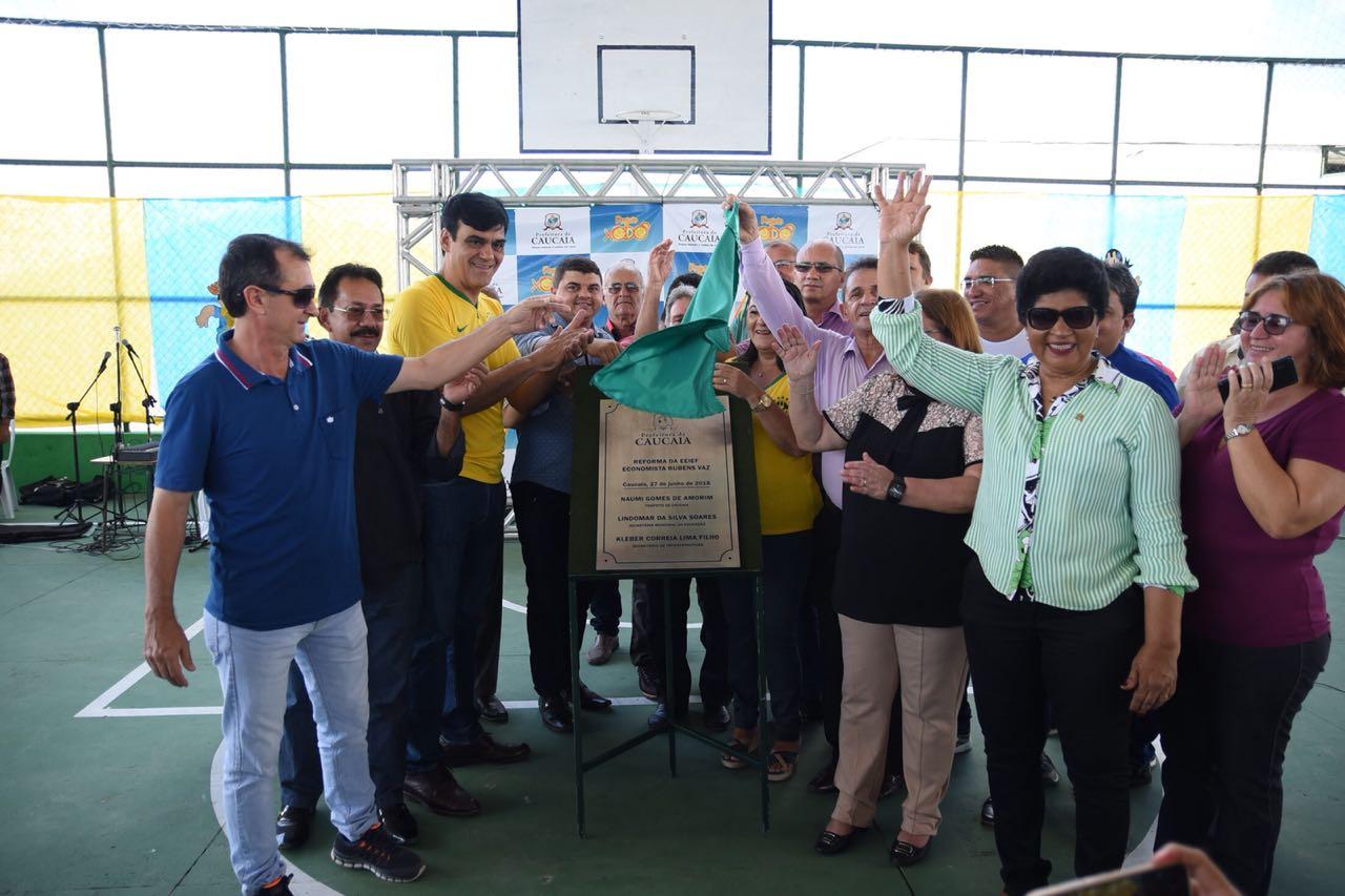 271abfbdbd Escola Rubens Vaz é recuperada para atender a mais de dois mil alunos