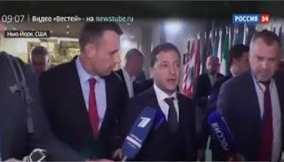 """ДИВИТИСЬ ВСІМ !!! """"Папрасіть !? - Це не про Україну"""", - Зеленський просто """"знищив"""" рос. пропагандистів у США (відео)"""
