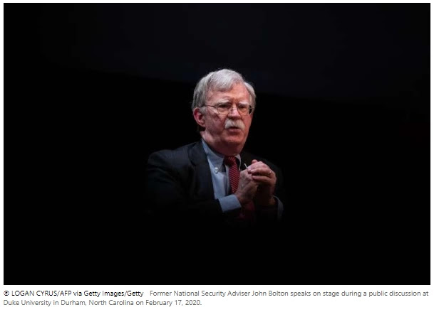 Bolton Says U.S. Should Overthrow Iran's Ayatollahs, Give Power to People