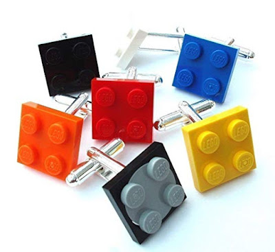 Cufflinks Handmade with LEGO® Plates