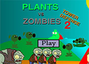 Plants Vs Zombies Tower Defense 2