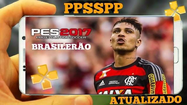 NOVO!! PES 2018 PARA PPSSPP  BRASILEIRÃO e EUROPEU ATUALIZADO NARRAÇÃO LUIZ ROBERTO ANDROID
