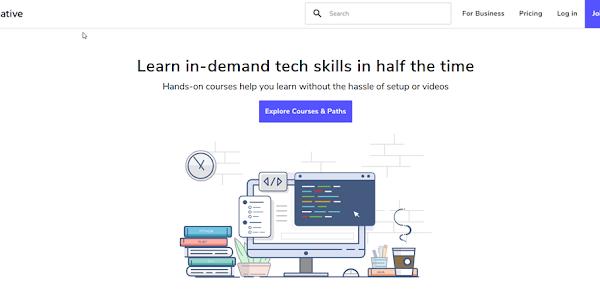 Review về nền tảng học trực tuyến Educative.io