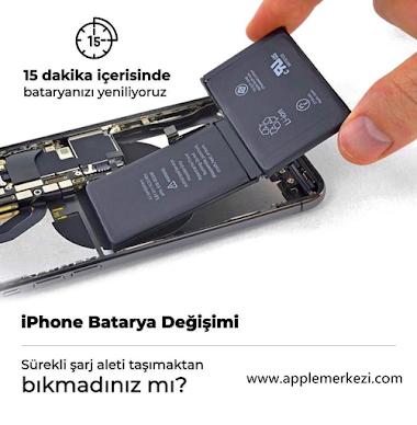 iPhone Batarya Değişimi  15 dakika