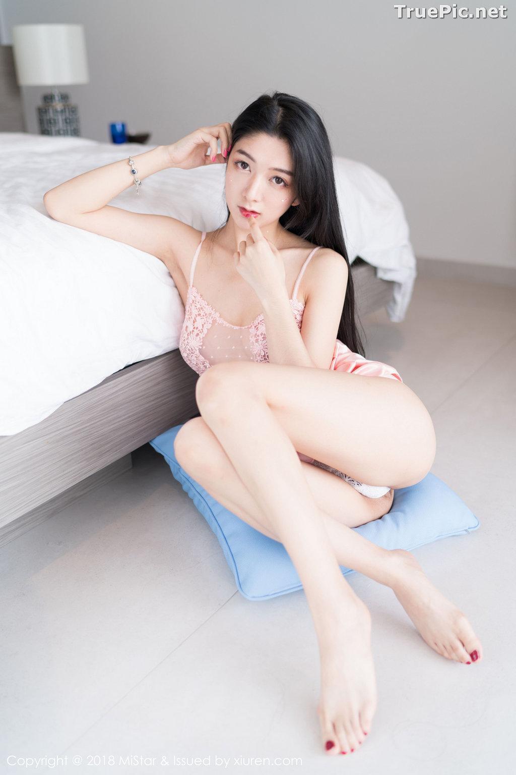 Image MiStar Vol.238 - Chinese Model - Xiao Reba (Angela小热巴) - Sleep Dress and Monokini - TruePic.net - Picture-29