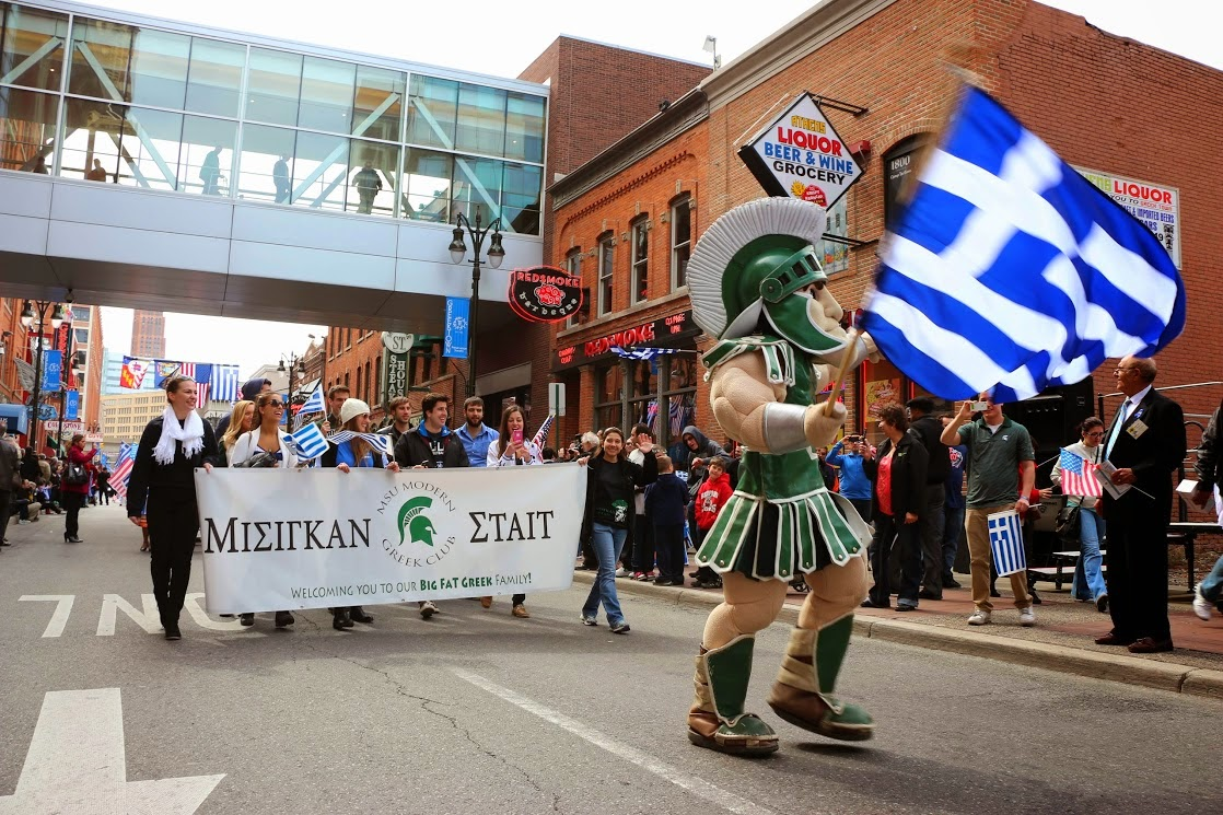2018 : Greek Independence Day Celebrated in Detroit