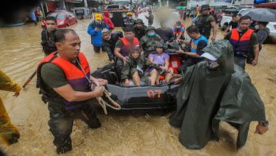 DEVASTADOR PASO DEL TIFON VAMCO POR FILIPINAS