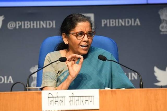 Nirmala Sitaraman aatm nirbhar bharat yojna - Newstrendshindi