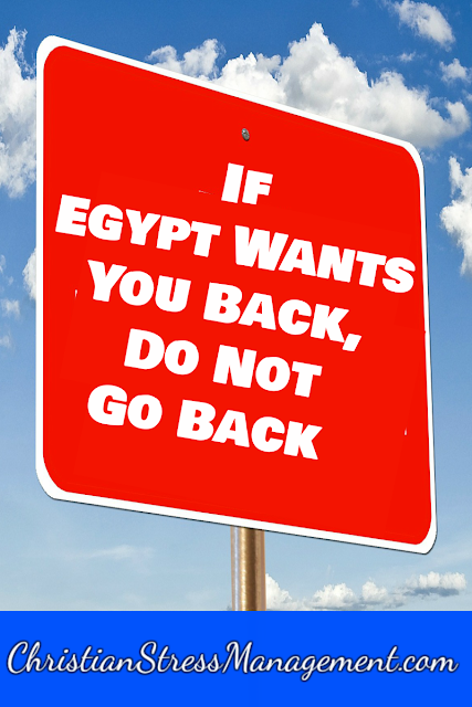 If Egypt Wants You Back, Do Not Go Back
