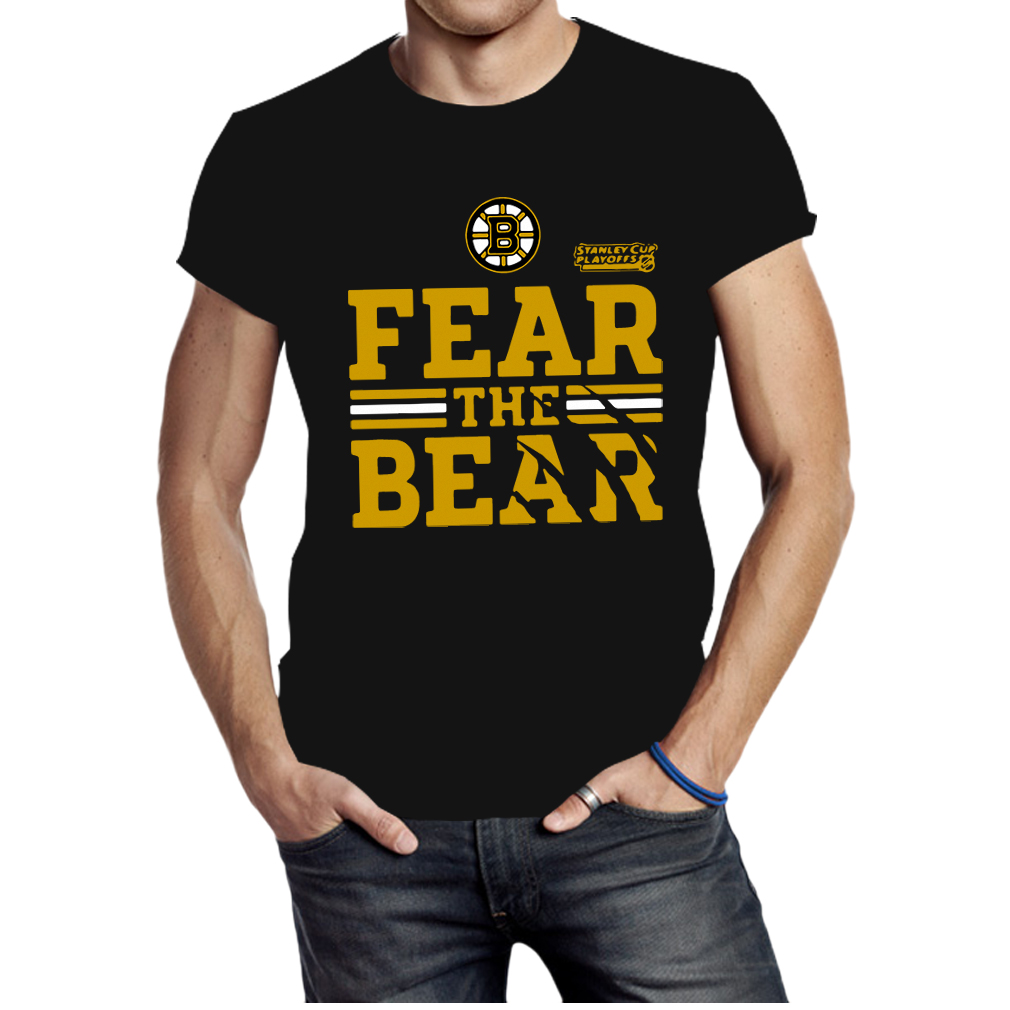 Boston Bruins 2019 Stanley Cup Playoffs Fear The Bear