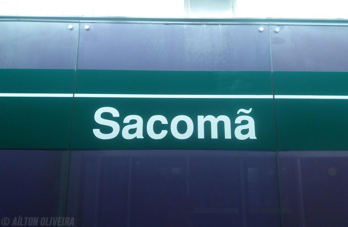 Estação Sacomã da Linha 2-Verde do Metrô de SP