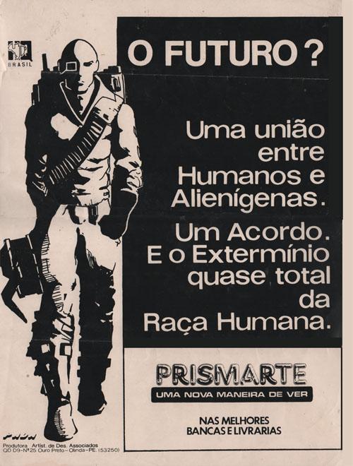 Cartaz promocional da Prismarte #1 - 1994