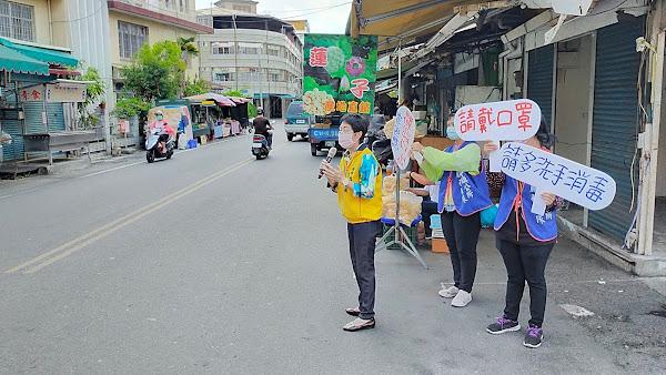 田中鎮公所成立口罩糾察隊 防疫總動員熱點消毒