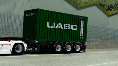 Container Trailer by Rhino3D
