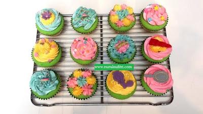 12 cupcakes yang dibuat rafa masak bersama barbie resep es teler chef stella lowis nurul sufitri blogger