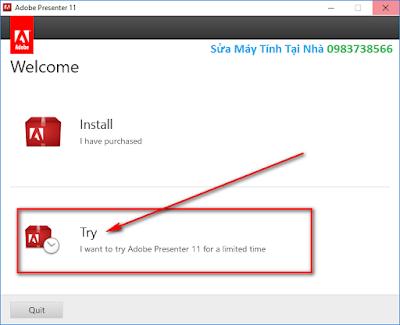 Hướng dẫn cài đặt Adobe Presenter 11