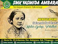 Desain Ucapan Selamat Hari Kartini 2019