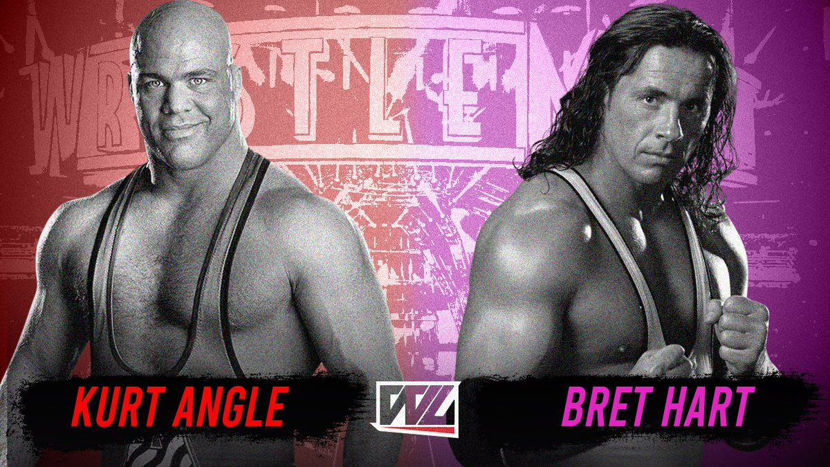 Kurt Angle ainda quer enfrentar Bret Hart