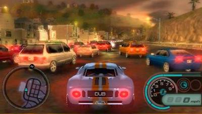 kumpulan Game Racing  Balap PSP PPSSPP