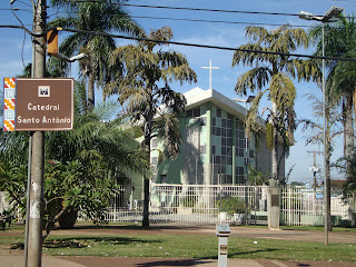 Igreja Matriz Atual de Santo Antônio em Campo Grande MS