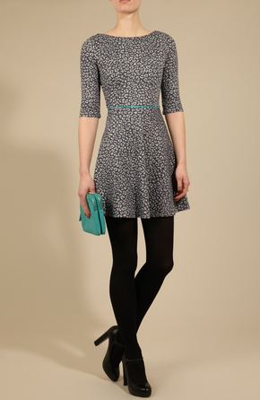 1c6ce0578df276 Domestic Sluttery  Dream Dress  Louche Leopard Print Dress