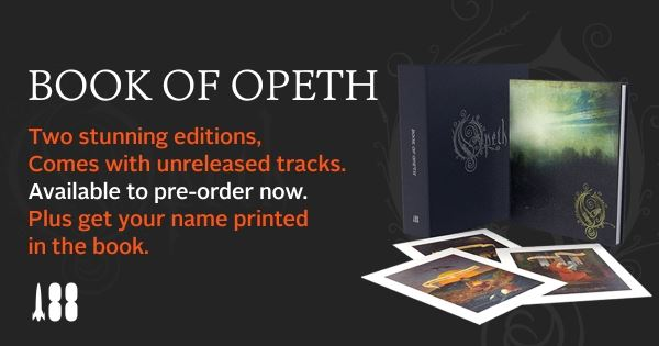 OPETH: Τον Δεκέμβριο θα κυκλοφορήσει το βιβλίο τους