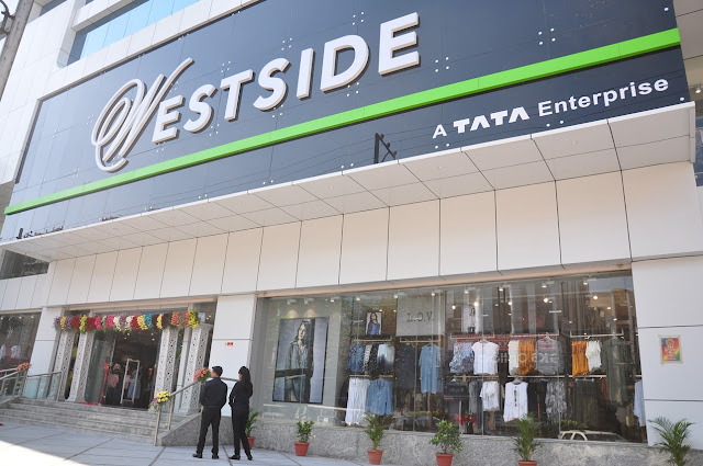 The Himayat Nagar store houses Westside, Landmark, Sport Zone, Studio West & Gourmet West