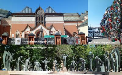 Viaje a Rusia: Moscú: Galería Tretiakov, puente de los candado y monumento a los niños víctimas de los vicios adultos