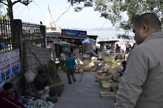 Uzan Bazar Ferry Ghat Market