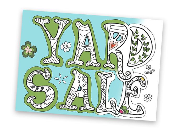 Best yard sale signs, ideas