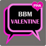 BBM Mod Valentine Apk Terbaru