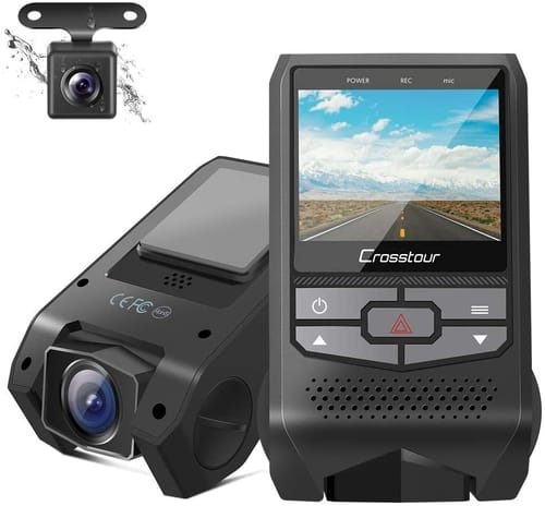 Review Crosstour CR600 Dual Dash Cam FHD Car Camera