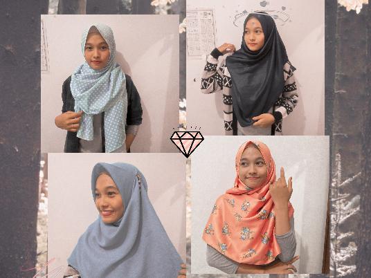 Tutorial Hijab Lebaran Simple Kekiniaan Namun Tetap Syar I Andayani Rhani