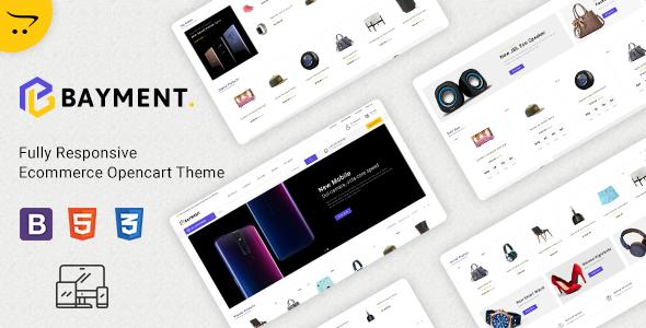 Bayment - Multipurpose Responsive Opencart Theme
