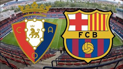 مشاهدة مباراة برشلونة واوساسونا بث مباشر 16-7-2020 في الدوري الاسباني
