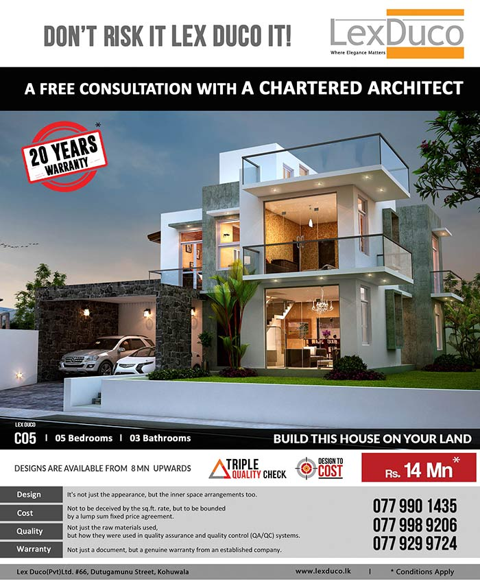 5 bedroom Lex Duco C05 is only 14 Mn on your land