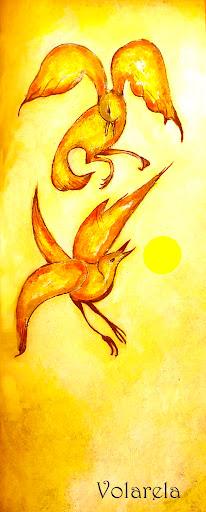 ¡Hay un piar muy grande y amarillo a nuestra espalda!... ¡Es el sol!