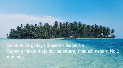 Ucapan Selamat Dirgahayu Republik Indonesia